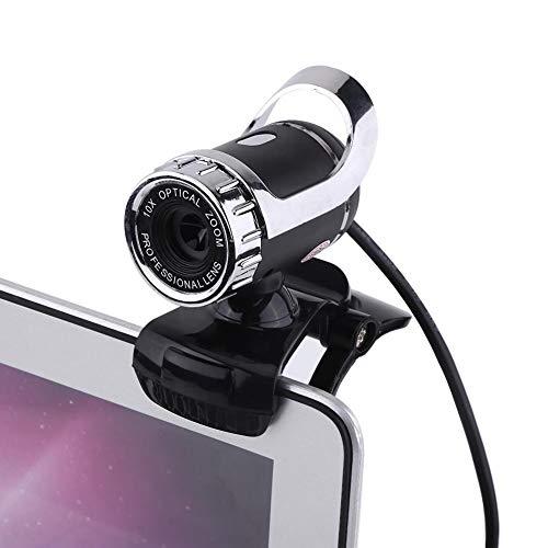 cámara web con clip USB