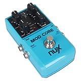 NUX MOD Coré Guitare Pédale d'effet 8 modulation Véritable bipasse ...