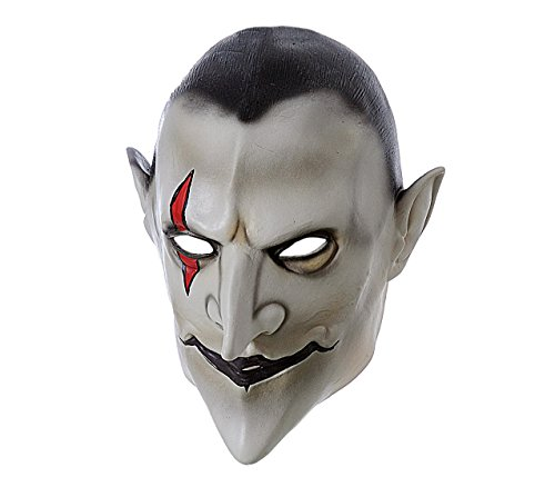 Media wave store maschera travestimento carnevale 441616 vampiro horror misura unica