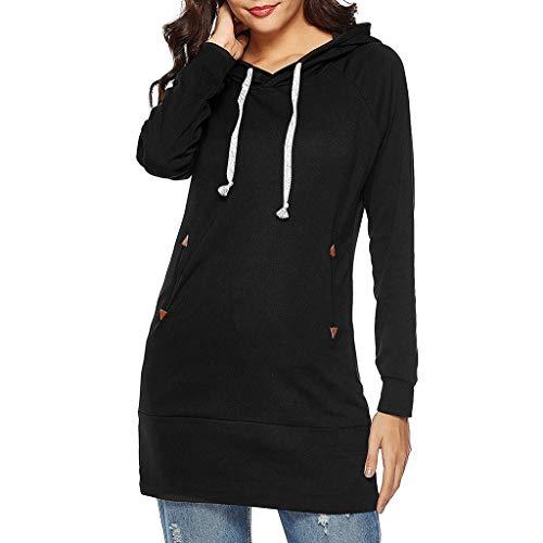 7e752a860c006 JUTOO Sweats à Capuche Femme Hoodie Sport Sweat-Shirts Robe Pull Fille  Sweat Capuche Grande