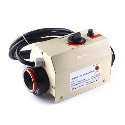 Huanyu B-M2 - Termostato eléctrico Comercial para bañera o Piscina, Control de Temperatura para bañera...