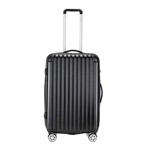 baigio-unisex-suitcase-hardshell-roller-case-hard-luggage-wheeled-hand-luggage-67cm-65l-black