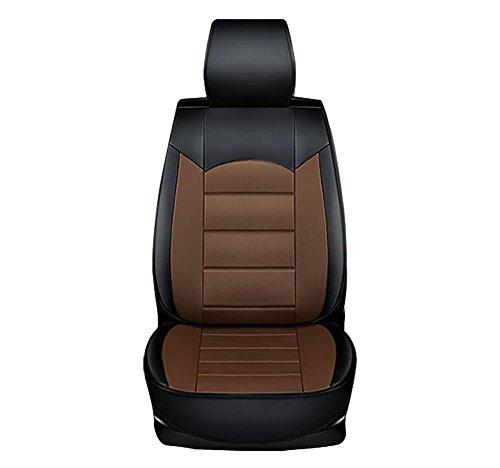 YLG Universal Sitzbezüge Für Auto Sitzbezug Schonbezüge Autoauflage Schoner, Sitzbezüge Universal Für Auto Vier Jahreszeiten Universal,Brown