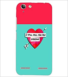 PrintDhaba Quote D-2632 Back Case Cover for LENOVO VIBE K5 PLUS (Multi-Coloured)