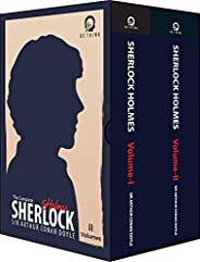 The Complete Sherlock Holmes (Set of 2 Books) - Collection of 4 Novels and 56 Short Stories