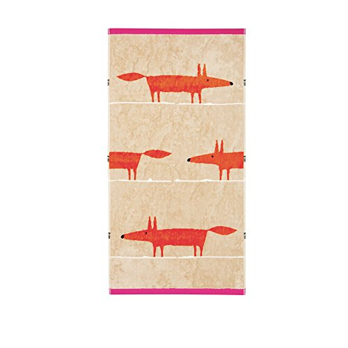 scion-mr-fox-hand-towel-cerise-tangerine