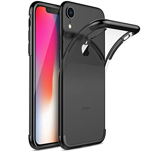 KuGi Coque iphone XS Plus,iPhone XS Max,iphone XS Plus,iPhone XS Max Coque Ultra Transparente Silicone en Gel TPU Souple[Anti Choc],...