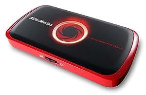 AVerMedia - Live Gamer Portable (C875) Boîtier d'Acquisition Vidéo de Gameplays HD 1080p pour PC/Xbox360 & one /PS3 & 4/WiiU