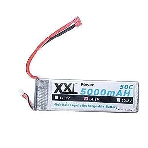 XXL Puissance 14.8V 5000mAh 50C Haute Capacité BG818 batterie LiPo