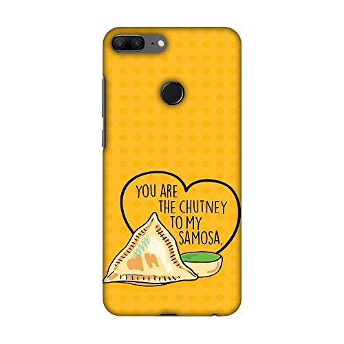 Hartschalen-Schutzhülle für Huawei Honor 9 Lite, Motiv Türkiye Türkei 2 HD Farbe, schlankes Design, schlankes Design, mit Bildschirmreinigungs-Kit, You Are The Chutney to My -