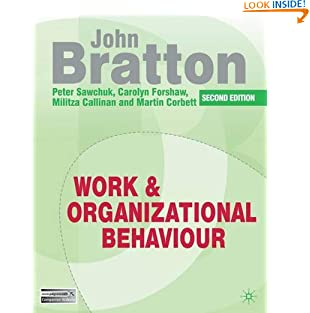 Work and Organizational Behaviour (Paperback)