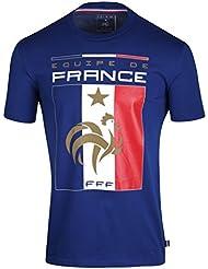 T-shirt FFF - Collection officielle Equipe de France de Football - Taille enfant garçon