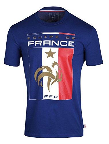 T-shirt FFF - Collection officielle Equipe de France de Football - Taille enfant garçon 10 ans