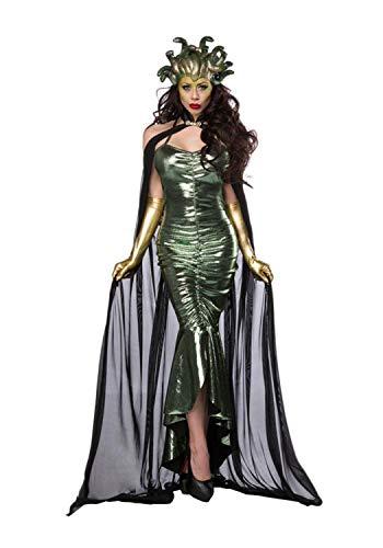 Mask Paradise Damen Komplettset-Kostüm Mystic Medusa - Medusa Kostüm Mädchen