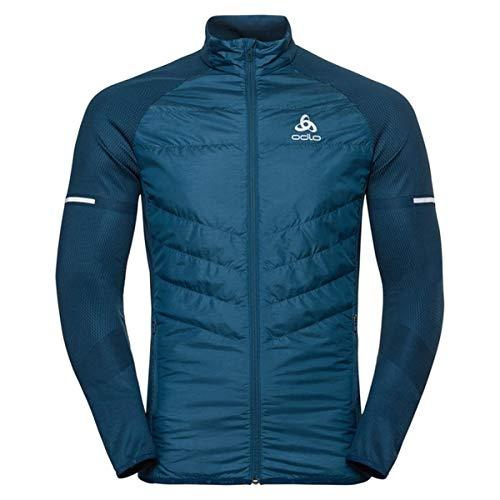 Odlo Jacket IRBIS Hybrid Seamless Herren Laufjacke Gr. S (Jacke Silver Adventure)