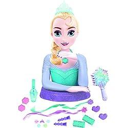 IMC Toys Reine des Neiges - 16620 - Tête À Coiffer De Musicale - Elsa