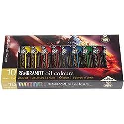 Rembrandt óleo, set básico - 10 x 15 ml