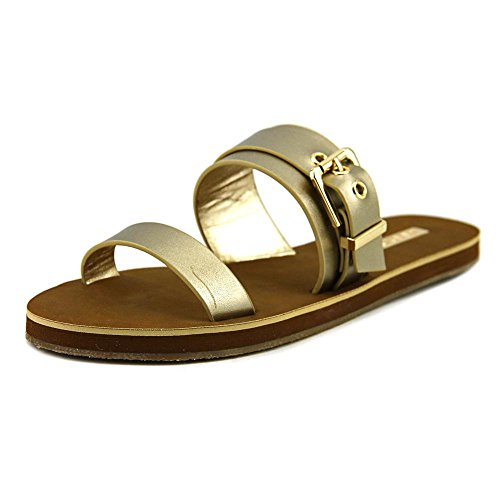 Aldo Eleanna Leder Sandale Gold