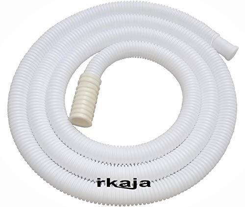 Irkaja 2 Meter Semi Automatic Washing Machine Water Inlet/Inflow Plastic Hose Pipe Tube/Extension Pipe (2 Meter)