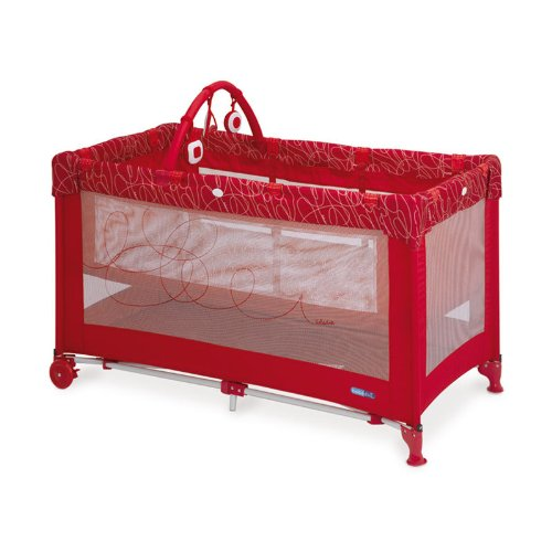 bebe-due-looping-lit-de-voyage-couleur-rouge