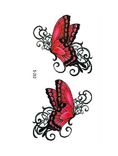 (s-212) flash tattoo adesivi temporanei temporaneo corpo stickers tattoo adesivo foglio per - donna