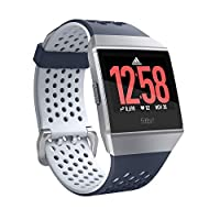 Fitbit Ionic Adidas Edition , El Smartwatch Deportivo, Azul (Tinta) / Gris (H...
