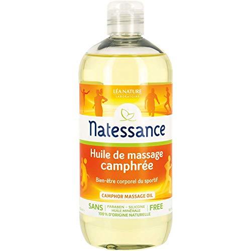 NATESSANCE Huile de Massage Camphrée