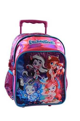 Jacob & Co. Trolley Backpack Enchantimals - Mochila Infantil 36 cm, Color Morado