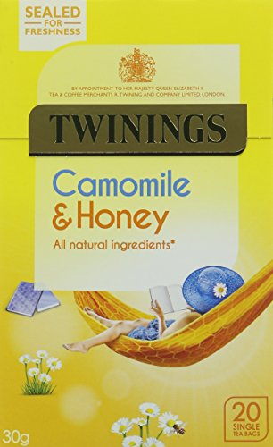 Twinings Camomile, Honey and Vanilla 20 Teabags (Pack of 4, Total 80 Teabags)