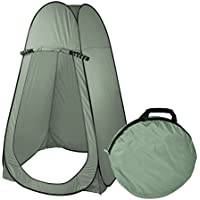 SavingPlus Pop Up Portable Private Toilet Shower Changing Camping Beach Travel Tent Instant