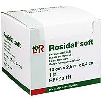 Lohmann & Rauscher Rosidal Weich gepolsterte Bandage, 10x 2,5cm preisvergleich bei billige-tabletten.eu