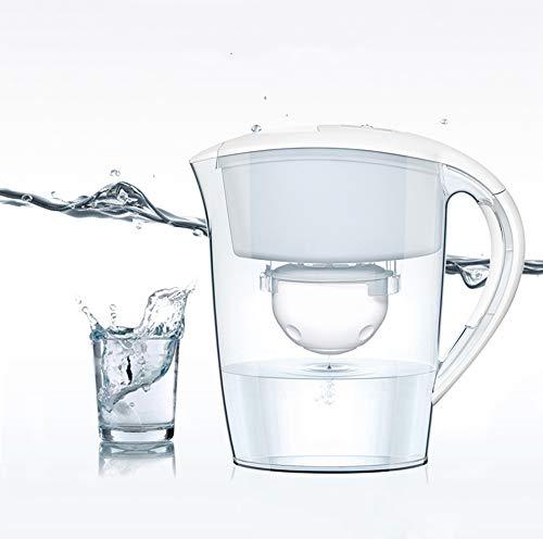 LED Digitalanzeige Alkalischer Wasserfilterkrug, 2.5L, Weiß ()