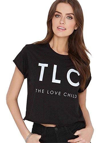 estilo-punk-rock-hip-hop-tlc-the-love-child-estampado-eslogan-logotipo-grafico-graphic-camiseta-tee-