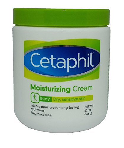 Cetaphil Moisturizing Cream for Dry, Sensitive Skin, Fragrance Free, 20 oz  available at amazon for Rs.1920