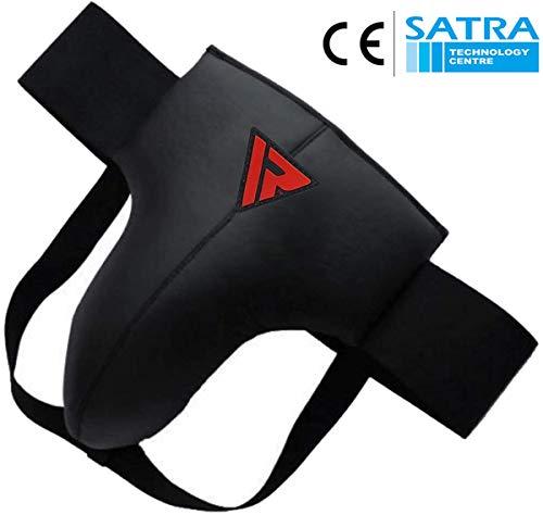RDX Herren Mma Suspensorium Leather-X Ggx-r1 Tiefschutz