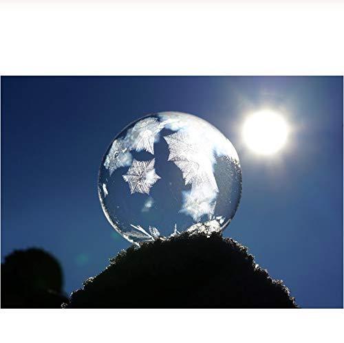 Lkrou DIY 5d Diamant malerei kreuzstich Kits mosaik Stickerei kreuzstich Glas Ball Bild wohnkultur Geschenk 40x50 cm (Delphin-stress-ball)