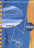 Comptabilité et audit Enoncé - UE 4 du DSCG