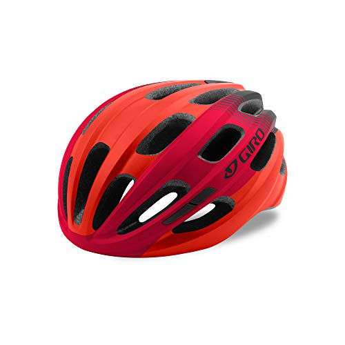 ISODE-helm draaien, unisex, mat rood / zwart, één maat
