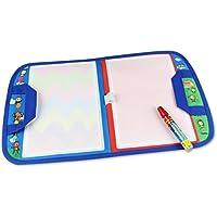 ECOOLBUY - Mochila plegable para niños, 46 x 29,5 cm, fácil de transportar, con diseño de dibujos animados, para viajes, manualidades, pintura y lona, juguete mágico