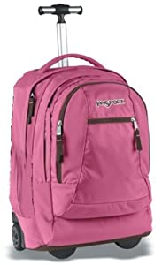 JanSport Driver 10 wheeled suitcase (Pink Daiquiri)