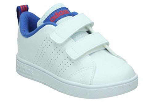 adidas Vs ADV Cl CMF Inf, Chaussures de Fitness Mixte Enfant, Blanc (Ftwbla/Ftwbla/Azalre 000), 25 EU