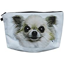 Chihuahua Kosmetiktasche Tasche Make-Up Bag