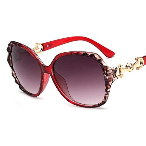 QYY Sonnenbrillen Herren Polarized Sunglasses Womens Mirrored Lens,Red