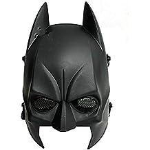 Worldshopping4U Tech-P - máscara de Batman Airsoft CS para mitad cabeza, táctica, de Cosplay