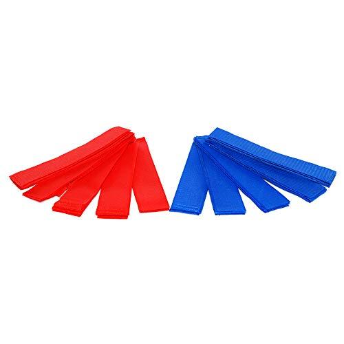 Airsoft 10 Stück! Teamarmbinden Klett für Sport, Paintball, Klettbänder