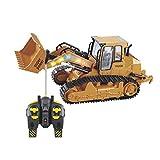 TianranRT 1: 12 RC Bagger Schaufel Fernbedienung Kontrolle Bau Planierraupe LKW Spielzeug Licht