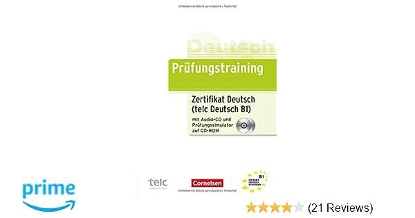 Prüfungstraining Daf B1 Zertifikat Deutsch Telc Deutsch B1