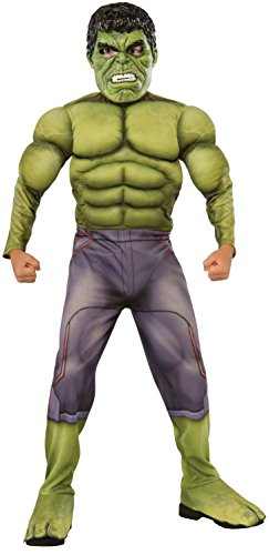 Rubie' s costume da hulk, thor ragnarok, ufficiale marvel, per bambini