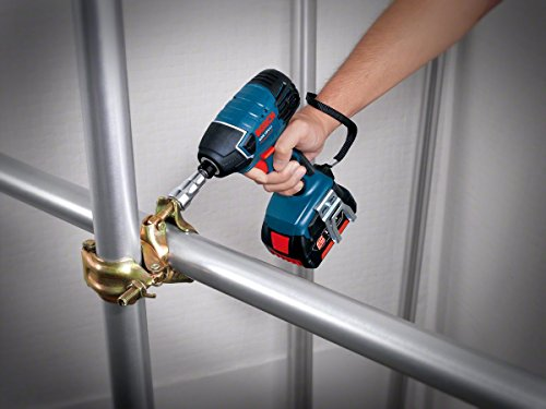 You will enjoy the freedom of manoeuvring into restricted spaces due to the short and light design of this tool. The high impact rate of 3,200 bpm will enhance fast progress in driving screws into various metals. All things considered, the Bosch Professional GDR 18 V-LI Cordless Impact Driver is an amazing budget choice for tradesmen.