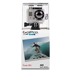 GoPro HD Surf Hero Caméscope numérique Full HD Port SD 5 Mpix Étanche 60 m USB( langue: anglais / espagnol)